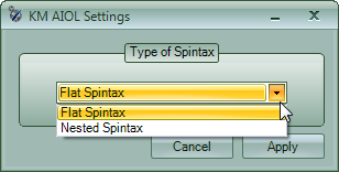 Flat vs Nested Spintax